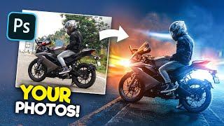 Editing YOUR Photos in Photoshop! | S1E1