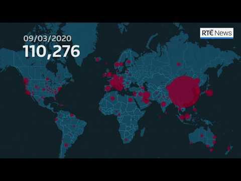 The global spread of coronavirus