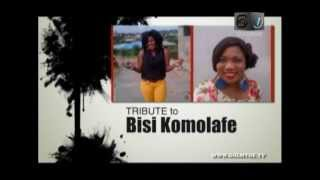 TRIBUTE TO BISI KOMOLAFE - HITZ TV