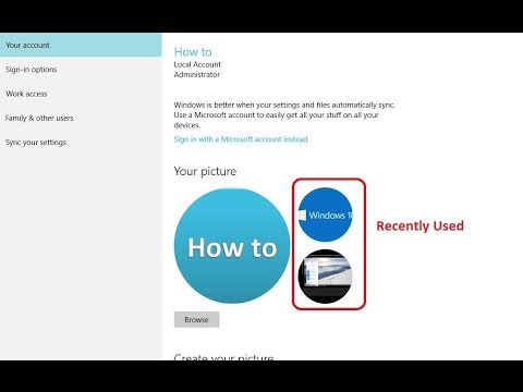 how to delete windows 10 account picture