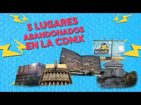 5 lugares abandonados de la CDMX que debes conocer | CHILANGO