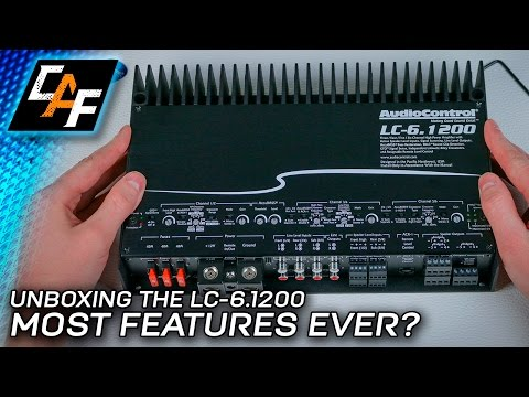 FEATURE PACKED! AudioControl LC-6.1200 6 Channel Amplifier