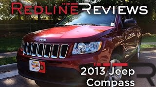 2013 Jeep Compass Review, Walkaround, Exhaust, & Test Drive