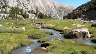 Sierra Nevada Mountains Big Pine Lakes Backpacking Trip