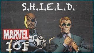 The Top Secret Organization - S.H.I.E.L.D. - MARVEL 101