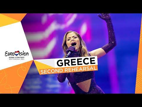 Stefania - Last Dance - Second Rehearsal - Greece 🇬🇷 - Eurovision 2021