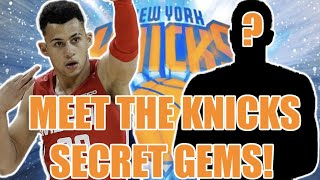 Meet these SECRET NY Knicks players! (Mystery Knicks players)