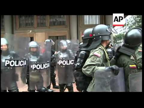 Clashes breakout as May Day protest marches are held across the region