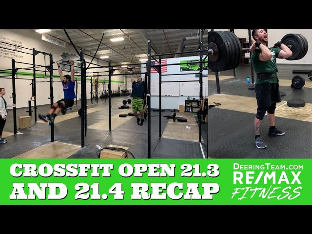 Crossfit Open 21.3 and  21.4 | Workout Recap