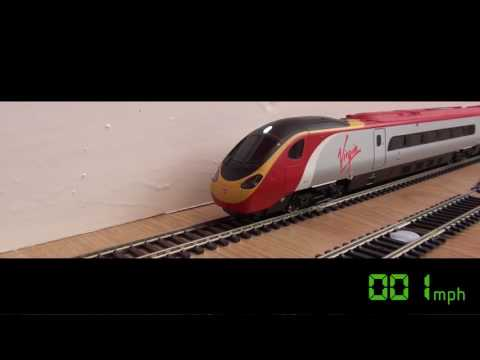 Worlds Fastest Toy Train at 180mph