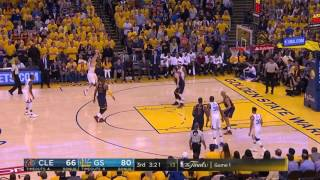 Klay Thompson from 3 in Game 1