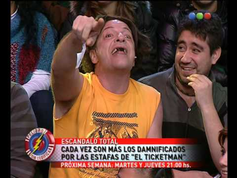 El Ticket Man, Entradas Truchas - Peligro Sin Codificar