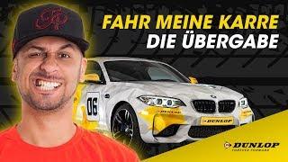 """""""Fahr Meine Karre"""" - Die Übergabe des Dunlop Art Cars BMW M2"""