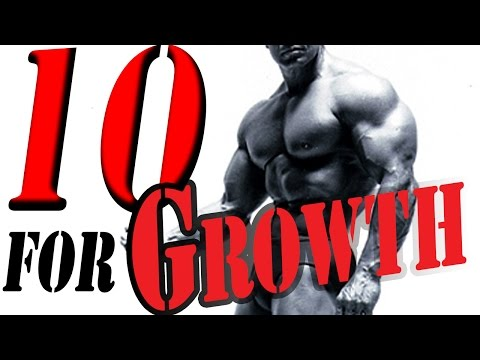 TOP 10 FOODS FOR MUSCLE GROWTH