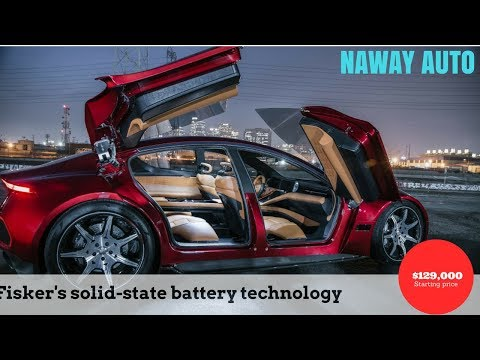 Fisker EMotion EV and flexible solid state battery debut at