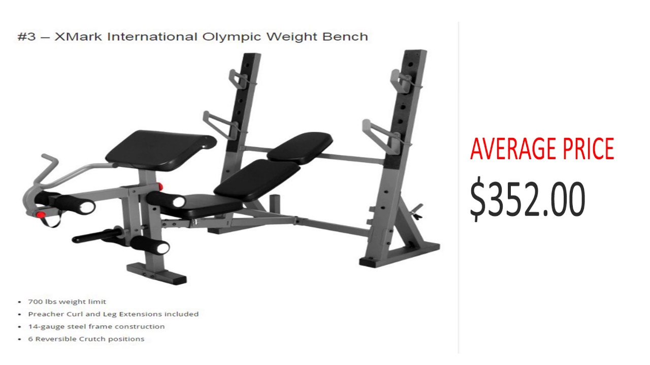Best Olympic Weight Bench For Your Home Gym   Top 5 Rated Weight Benches