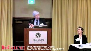 USEPA Region 10 Administrator Dennis McLerran BioCycle West Coast 2012 Keynote.mp4