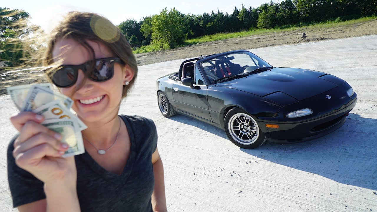 How Much It Cost Me To Build A Track Car Miata