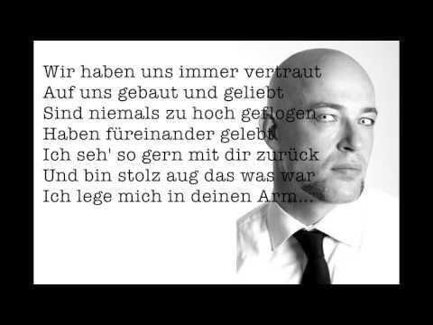 Als wär's das erste Mal - Unheilig (Lyrics/Text)