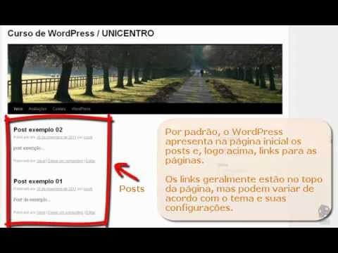 Configurando página inicial estática e página de posts - WordPress ...