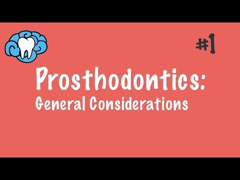 Prosthodontics | General