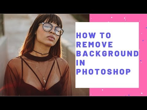 How to remove background in photoshop | White background remove service