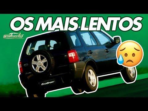 TOP-5: AS VERSÕES MAIS LENTAS DE CARROS LEGAIS - ACELELISTA #38 | ACELERADOS