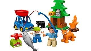 Lego Duplo Forest Fishing Trip 10583 Building