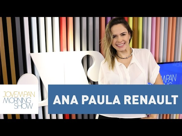 Ana Paula Renault - Morning Show - 13/04/17