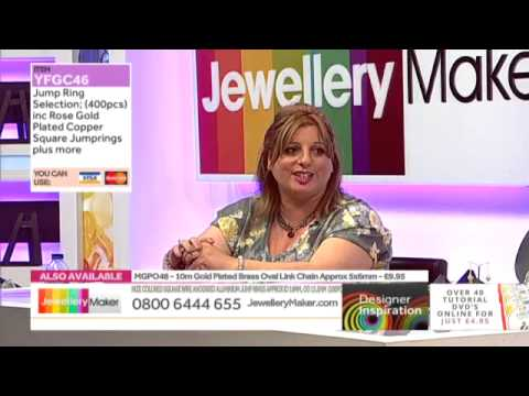 Chainmail Jewellery - Jewellery Maker DI LIVE - 25/06/15