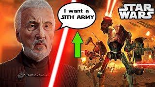 Count Dooku Reveals his ORIGINAL Plan if Anakin DIDN'T Kill Him - Star Wars Explained