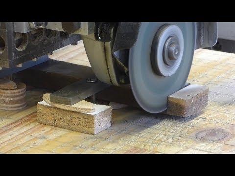 Cutting granite-epoxy on a CNC machine