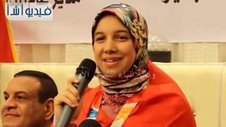 بالفيديو: محافظ البحيرة يكرم بطلة أولمبياد الشباب بالارجنتين