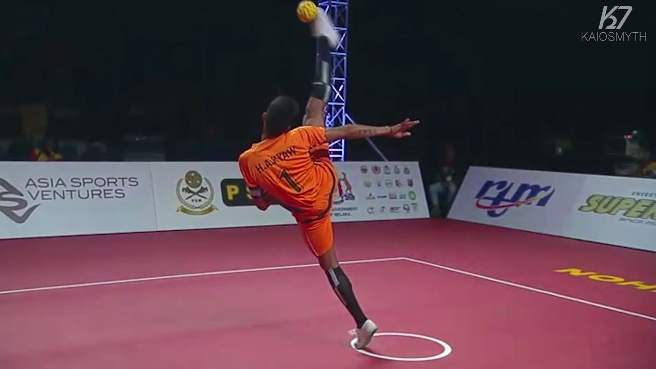 sepak takraw How to make a 'sepak takraw ball' ornament from a plastic bottle sepak takraw, a sport native to southeast asia is also known as kick volleyball, and players usually use a rattan ball the polyhedral shape of the object used in sepak.