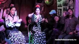 Flamenco: Gypsy flamenco-dance in Granada