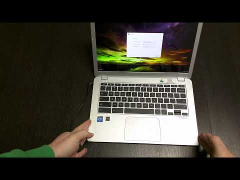Toshiba Chromebook 2 Unboxing and Hands On