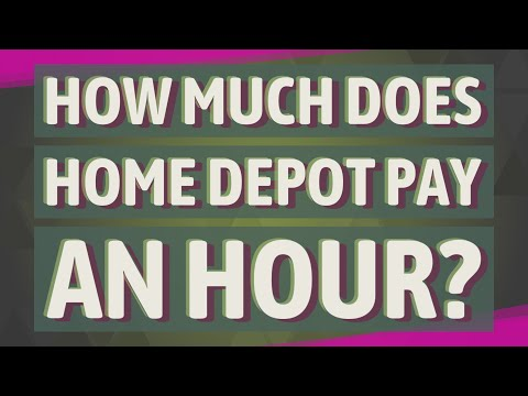 How Much Does Home Depot Pay An Hour?