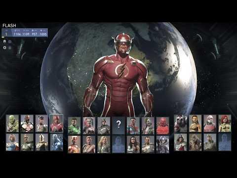"""Injustice 2 """"Mi nombre es Barry Allen"""""""