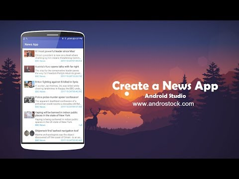 Create a News App on Android – Android Studio