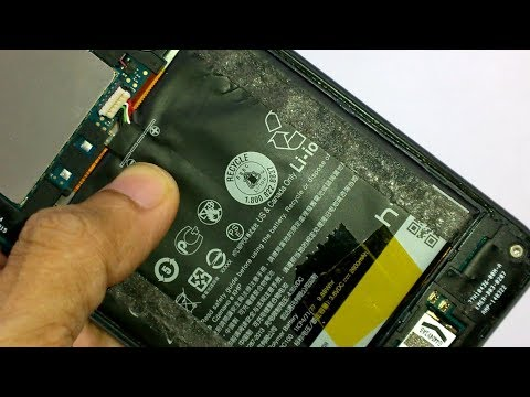HTC Desire 816 Battery Removal