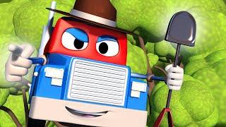 Грузовик рейнджер - Трансформер Карл в Автомобильный Город 🚚 ⍟ детский мультфильм