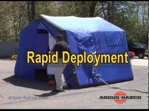 & Zumro Decon Tent Overview - YouTube