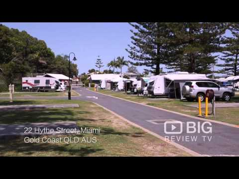 Ocean Beach Tourist Park an Accommodation in Brisbane offering Villa and Attractions