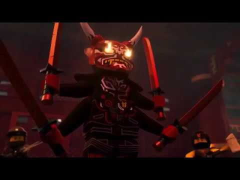 Lego Ninjago Les Fils De Garmadon Saison 8 Les Masques Oni Youtube