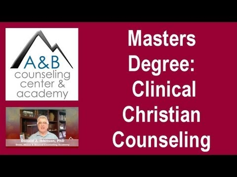 Masters Degree in Clinical Christian Counseling