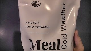 Mre Review -  Mcw Menu 4 - Turkey Tetrazzini (2013)
