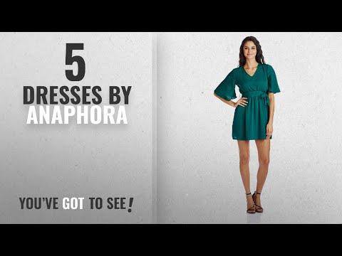 Top 10 Anaphora Dresses [2018]: Anaphora Women's Column Dress