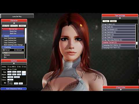 Lana Del Rey - Honey Select Card (Character Mod)