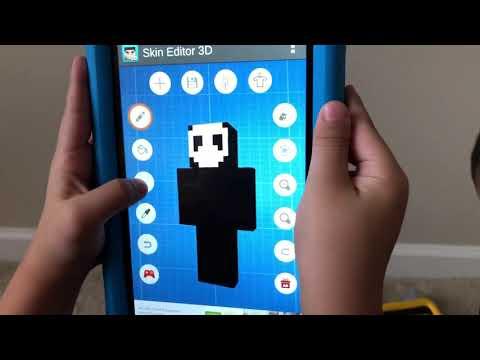 How To Create Bendy Skin For Minecraft / Как Создать Бенди Скин для Майнкрафт