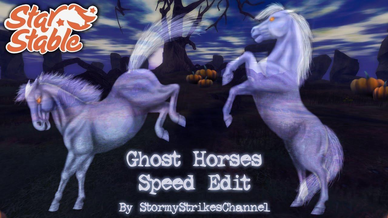 Sso Halloween Ghosts 2020 Star Stable Online 🎃 Halloween Ghost Horses Edit 🎃 2016   YouTube